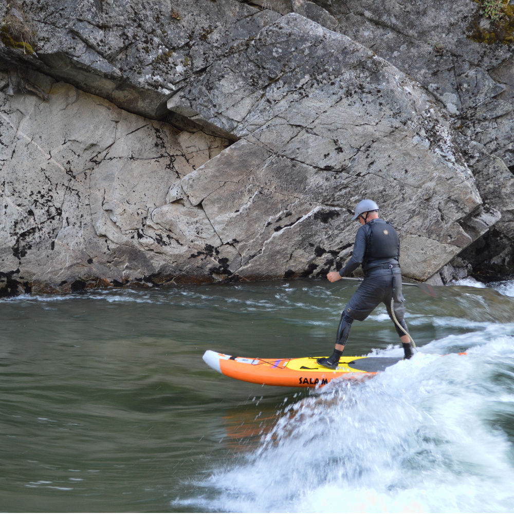 Shredder Whitewater Paddle Board | Salamander Paddle Gear