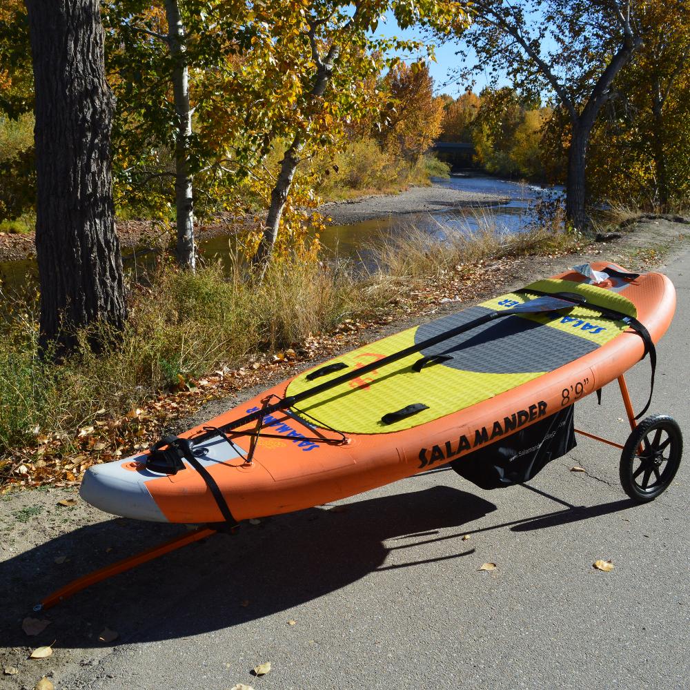 Salamander Bike Trailer Sup Or Kayak Salamander Paddle Gear