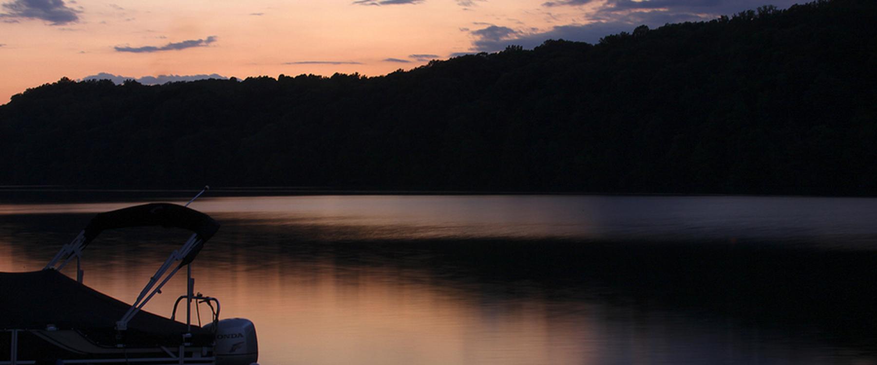 West Virginia shoreline