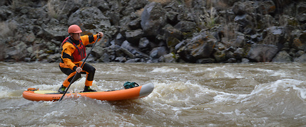 Whitewater SUP Owyhee river