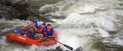 wild and scenic river rafting
