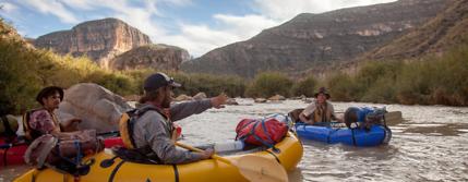 pack rafting rio grande river