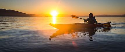 San Juan island kayak