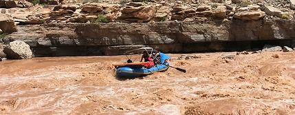 San Juan river salamander raft gear