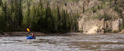 overnight paddling trip