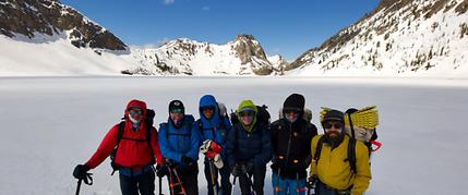 skyrafting, winter, adventure, trip, ski, skibike, kayak