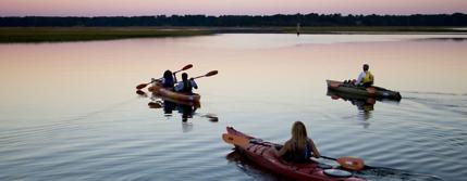 fall kayaking