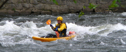 whitewater kayak the poconos river