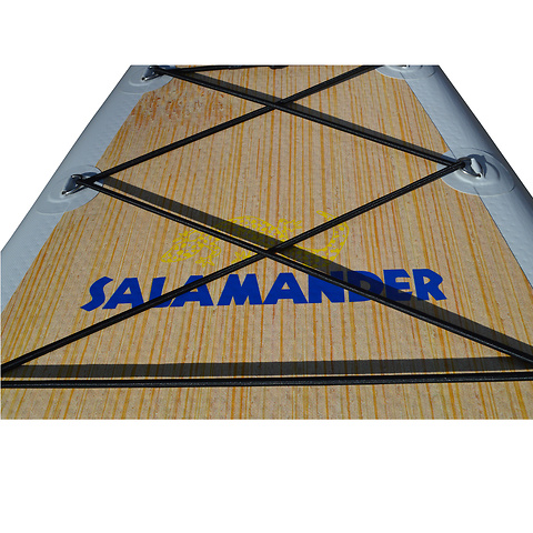 Sarasvati-Bamboo-Deck-SUP-12Foot-Flatwater-Lake-Salamander-Paddle-Gear