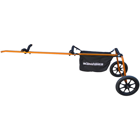 Salamander sup kayak bike trailer - orange