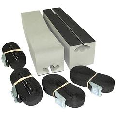 Kayak Roofootop Carrier Kit, Universal, 16 inch Long Block