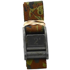 1 inch Camouflage Cam Straps, Rolled, 2 foot Camouflage