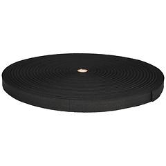 1 inch Polypro Bulk Webbing, Black