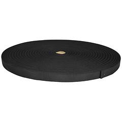 1 inch Heavy Duty Polyester Bulk Webbing, Black