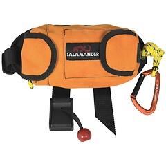 """Salamander Guide Throw Bag, 5/16"""" Polypropylene core (1000lb rated strength), 70 Feet, Mango"""