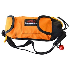 "Salamander Retriever and Golden Retriever Throw Bag, 5/16"" Spectra core (2500lb rated strength), 60 Feet, Mango"