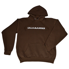 Salamander Heavyweight Pullover Hoodie, Dark Chocolate