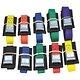 CBPR color coded cam buckle padded straps all